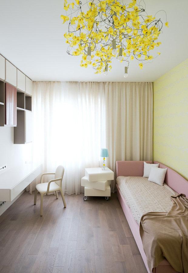 Фотография: Спальня в стиле Современный, Классический, Квартира, Проект недели, Москва, Бежевый – фото на InMyRoom.ru