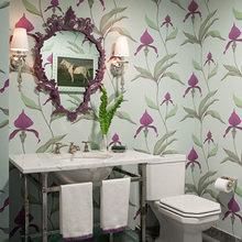 Фотография: Ванная в стиле Кантри, Классический, Квартира, Дома и квартиры, Ар-деко – фото на InMyRoom.ru