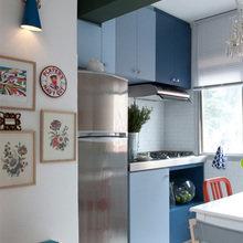 Фотография: Кухня и столовая в стиле Кантри, Эклектика, Квартира, Дома и квартиры, Бразилия – фото на InMyRoom.ru