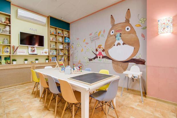 """Фото из портфолио Детская кофейня """"Expa Дети"""" – фотографии дизайна интерьеров на INMYROOM"""