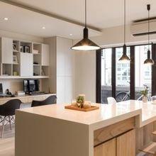 Фотография: Кухня и столовая в стиле Скандинавский, Квартира, Дом, Ремонт на практике – фото на InMyRoom.ru