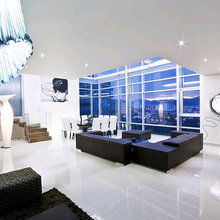 Фотография: Гостиная в стиле Современный, Декор интерьера, Мебель и свет, Эко – фото на InMyRoom.ru