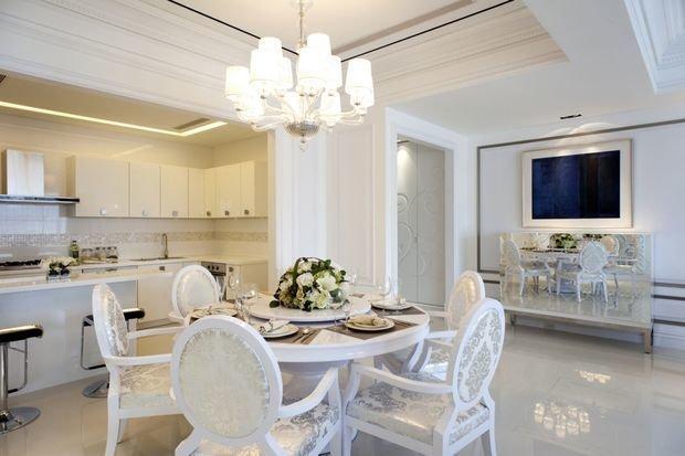 белый цвет в дизайне помещения