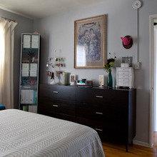 Фотография: Спальня в стиле Кантри, Квартира, Дома и квартиры, Лос-Анджелес – фото на InMyRoom.ru