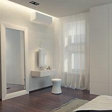 Фото из портфолио Современная черно-белая квартира – фотографии дизайна интерьеров на INMYROOM