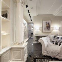 Фотография: Гостиная в стиле , Квартира, Дома и квартиры – фото на InMyRoom.ru