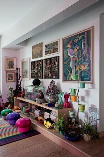 Фотография: Декор в стиле Восточный, Эклектика, Дома и квартиры, Интерьеры звезд, Принт, Missoni – фото на INMYROOM