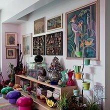 Фотография: Декор в стиле Восточный, Эклектика, Дома и квартиры, Интерьеры звезд, Принт, Missoni – фото на InMyRoom.ru