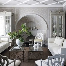 Фотография: Гостиная в стиле Кантри, Ремонт на практике – фото на InMyRoom.ru