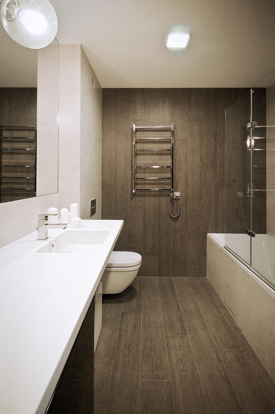 Фотография: Ванная в стиле Лофт, Современный, Квартира, Дома и квартиры, IKEA, Проект недели – фото на InMyRoom.ru