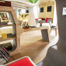 Фотография: Гостиная в стиле Эко, Декор интерьера – фото на InMyRoom.ru