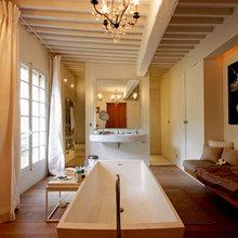 Фотография: Ванная в стиле Кантри, Эклектика, Дом, Франция, Дома и квартиры, Прованс – фото на InMyRoom.ru