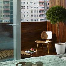Фотография: Балкон в стиле Современный, Кухня и столовая, Квартира, Цвет в интерьере, Дома и квартиры, Белый, Минимализм – фото на InMyRoom.ru
