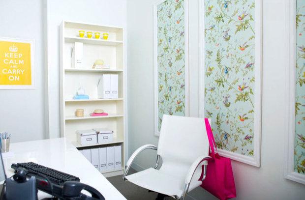 Фотография: Офис в стиле Скандинавский, Декор интерьера, DIY, Обои – фото на InMyRoom.ru