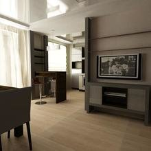 Фото из портфолио кухня-гостиная – фотографии дизайна интерьеров на InMyRoom.ru