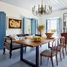 Фото из портфолио Потрясающая вилла на греческом острове  – фотографии дизайна интерьеров на InMyRoom.ru