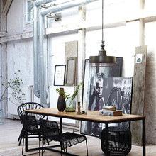 Фотография: Кухня и столовая в стиле Лофт, Стиль жизни, Советы, Стол – фото на InMyRoom.ru