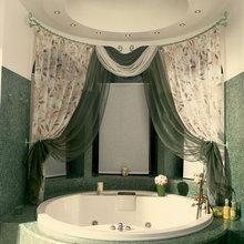 Фотография: Ванная в стиле Кантри, Декор интерьера, Текстиль, Текстиль, Шторы, Жалюзи – фото на InMyRoom.ru