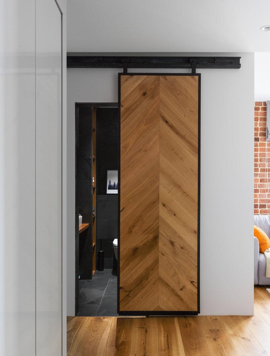 Фотография: Прихожая в стиле Современный, Квартира, Проект недели, Geometrium, Монолитный дом, 2 комнаты, 60-90 метров, ЖК «Сколковский» – фото на InMyRoom.ru