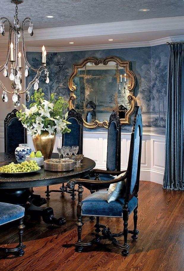 Фотография: Кухня и столовая в стиле Классический, Квартира, Дома и квартиры – фото на InMyRoom.ru