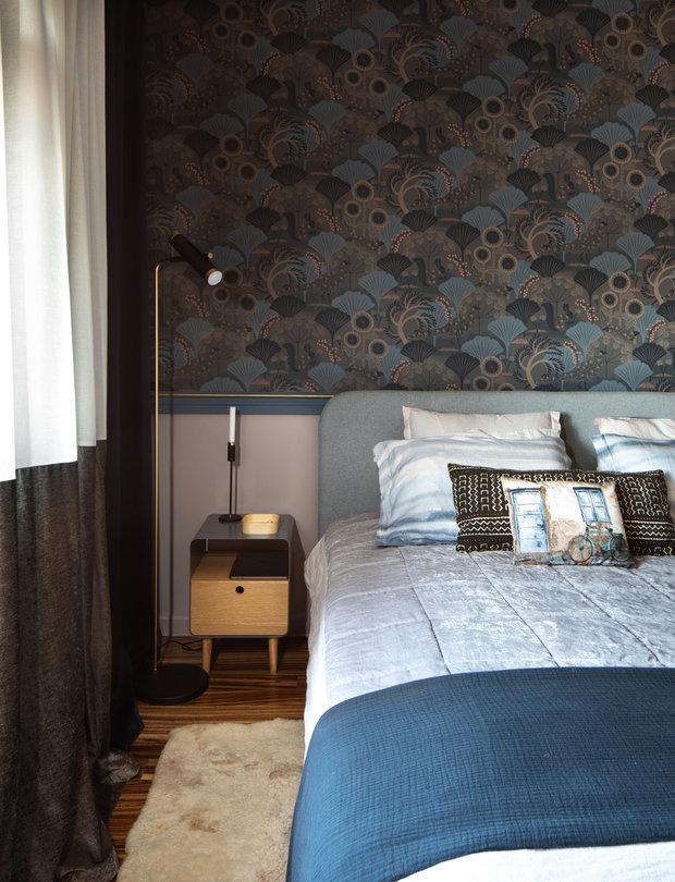 Фотография: Спальня в стиле Современный, Квартира, Проект недели, Москва, 3 комнаты, 60-90 метров, Анна Никитина – фото на INMYROOM