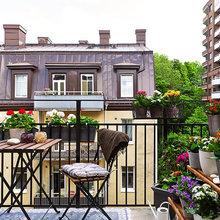 Фотография: Балкон в стиле Эко, Ландшафт, Декор, Терраса, Советы, Мария Шумская, Есения Семипядная, элегантный городской балкон, винтажные вещи на балконе, восточный декор для балкона, балкон в средиземноморском стиле, ландшафтный дизайн для балкона, горизонтальное озеленение, хвойные растения на балконе – фото на InMyRoom.ru