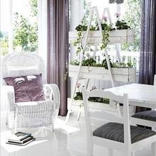 Фотография: Мебель и свет в стиле Скандинавский, Современный, Балкон, Интерьер комнат – фото на InMyRoom.ru