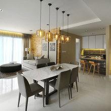 Фото из портфолио 2-комнатная квартира, площадью 80 кв.м. – фотографии дизайна интерьеров на InMyRoom.ru