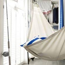 Фотография:  в стиле Современный, Карта покупок, Индустрия, IKEA, Дача, Подушки, Гамак – фото на InMyRoom.ru