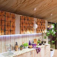 Фотография: Кухня и столовая в стиле Кантри, Дом, Терраса, Дома и квартиры – фото на InMyRoom.ru