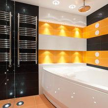 Фото из портфолио Двухуровневая квартира в стиле Лофт – фотографии дизайна интерьеров на INMYROOM