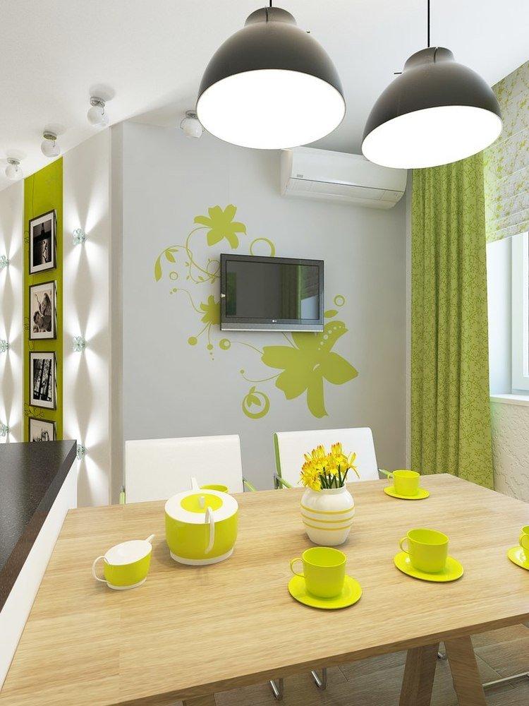 Легкая и воздушная кухня