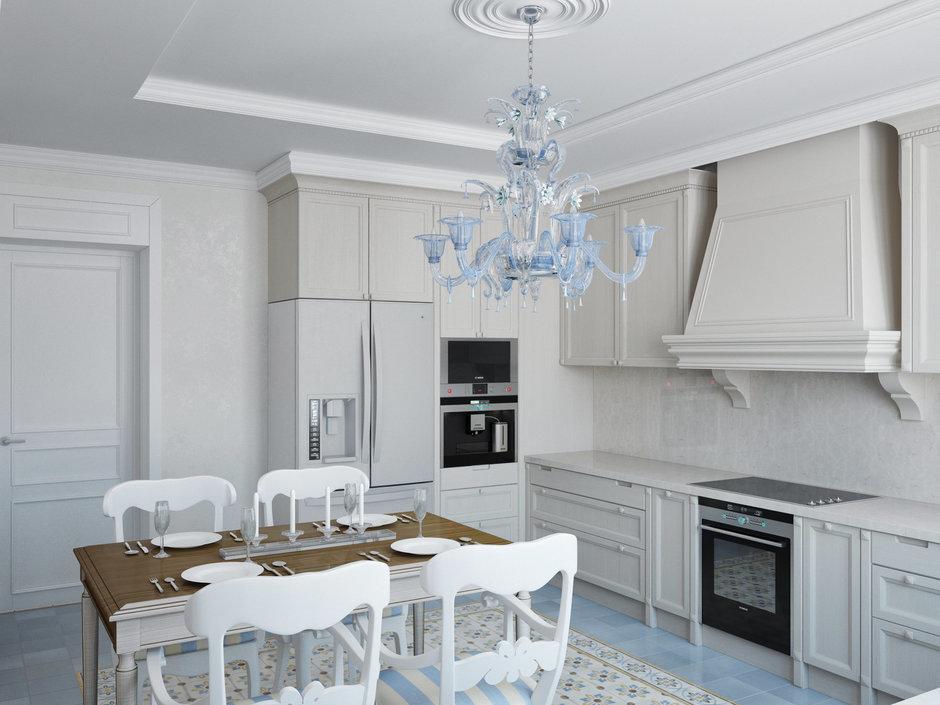 Фотография: Кухня и столовая в стиле , Декор интерьера, Дом, Artemide, Vistosi, Дома и квартиры, Проект недели, Ideal Lux, Таунхаус – фото на InMyRoom.ru