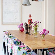 Фотография: Кухня и столовая в стиле Кантри, Эклектика, Декор интерьера, Мебель и свет, Стол – фото на InMyRoom.ru