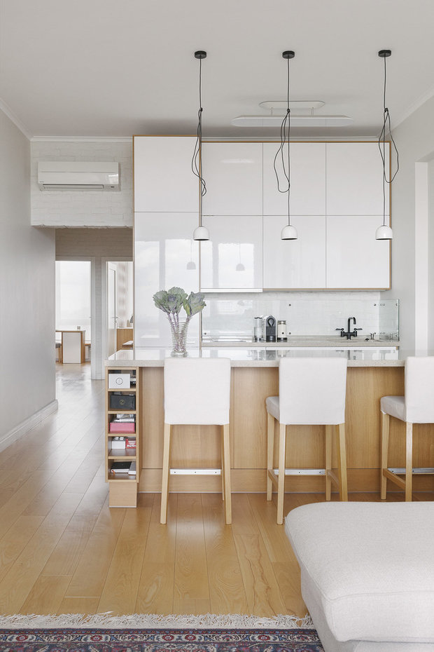 Фотография: Кухня и столовая в стиле Современный, Квартира, Гид, Герой InMyRoom – фото на InMyRoom.ru