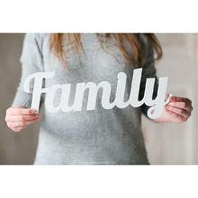 """Надпись """"family"""""""