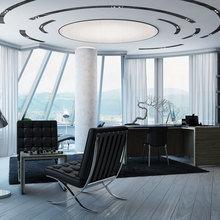 Фотография: Офис в стиле Хай-тек – фото на InMyRoom.ru