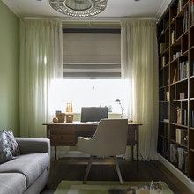 Фотография: Кабинет в стиле Классический, Квартира, Проект недели, Надя Зотова – фото на InMyRoom.ru