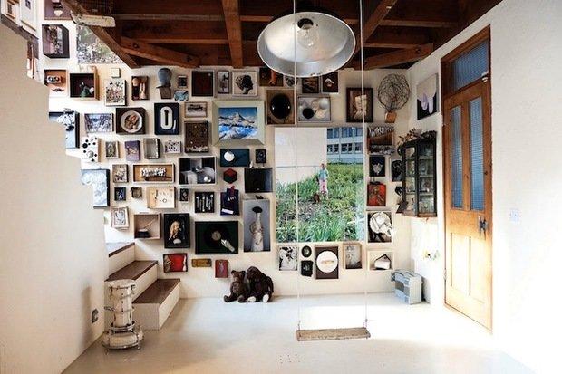 Фотография: Прихожая в стиле Лофт, Декор интерьера, Декор дома, Картины – фото на InMyRoom.ru