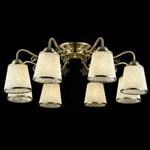 Потолочная люстра с плафонами из белого стекла Maytoni Ring