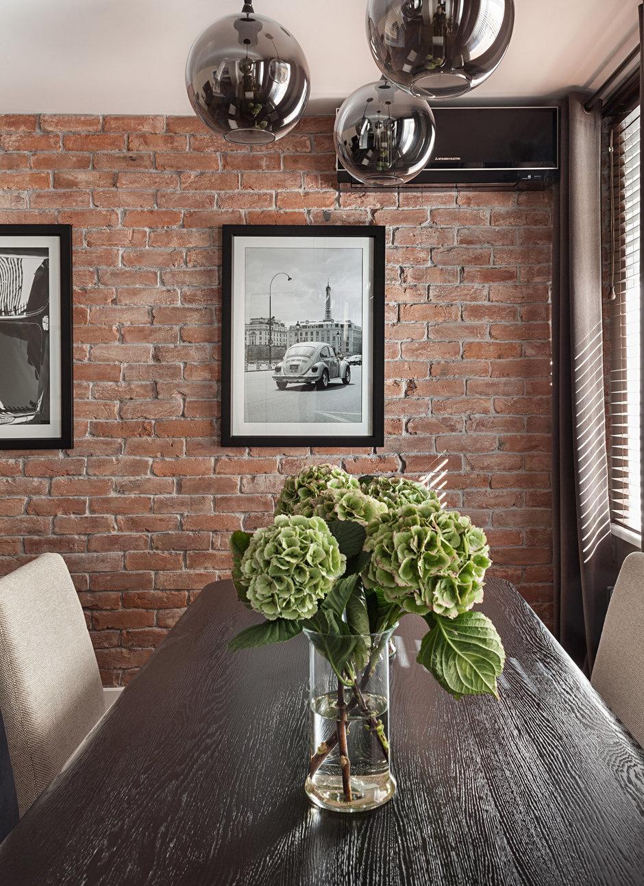 Фотография: Кухня и столовая в стиле Лофт, Современный, Эклектика, Классический, Квартира, Дома и квартиры, IKEA, Проект недели, Дина Салахова – фото на InMyRoom.ru