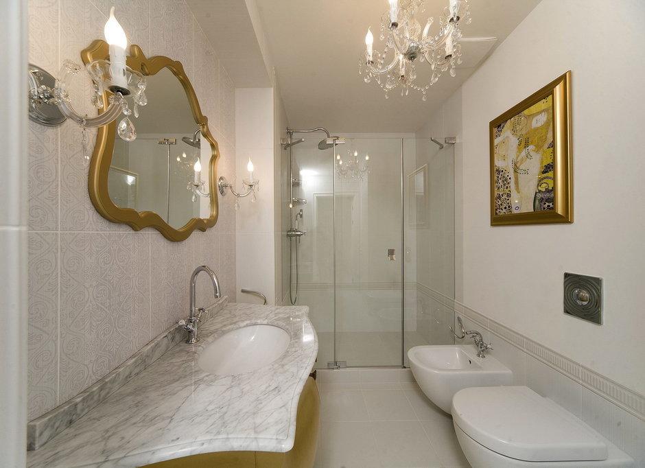 Фотография: Ванная в стиле Классический, Квартира, Дома и квартиры – фото на InMyRoom.ru