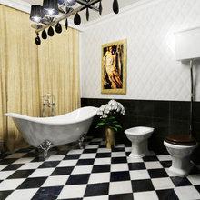 """Фото из портфолио Дизайн проект квартиры """"Эпоха Ар-Деко"""" – фотографии дизайна интерьеров на InMyRoom.ru"""