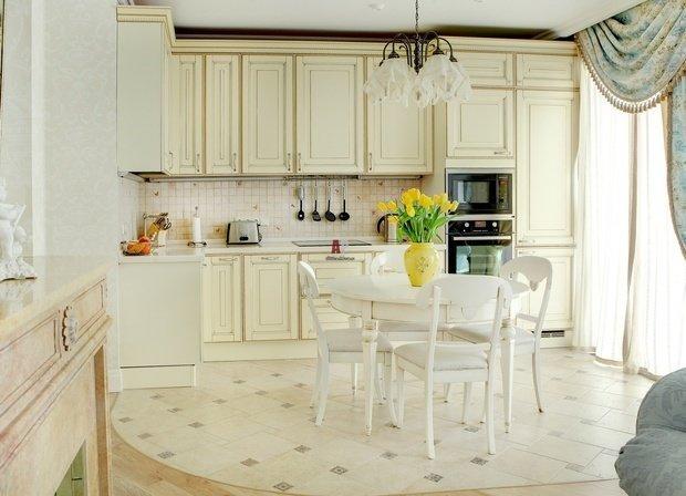 Фотография: Кухня и столовая в стиле Классический, Советы, Egger – фото на InMyRoom.ru