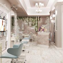 Фото из портфолио Салон красоты г.Краснодар – фотографии дизайна интерьеров на INMYROOM