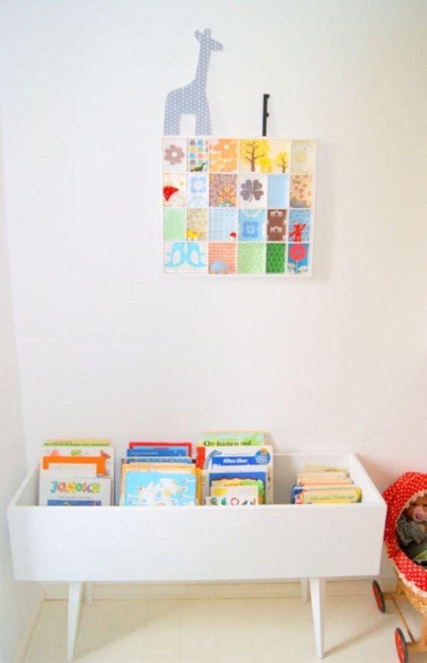 Фотография: Детская в стиле Скандинавский, Современный, Интерьер комнат, Библиотека – фото на InMyRoom.ru