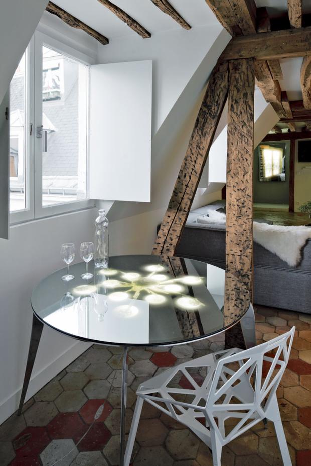 Фотография: Мебель и свет в стиле Лофт, Квартира, Дома и квартиры – фото на InMyRoom.ru