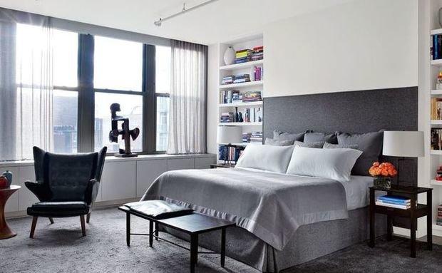 Фотография: Спальня в стиле Скандинавский, Квартира, Советы, Ремонт на практике – фото на InMyRoom.ru