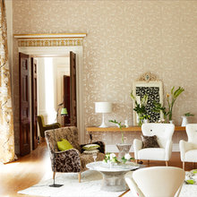 Фотография: Гостиная в стиле Кантри, Эклектика, Декор интерьера, Декор дома – фото на InMyRoom.ru