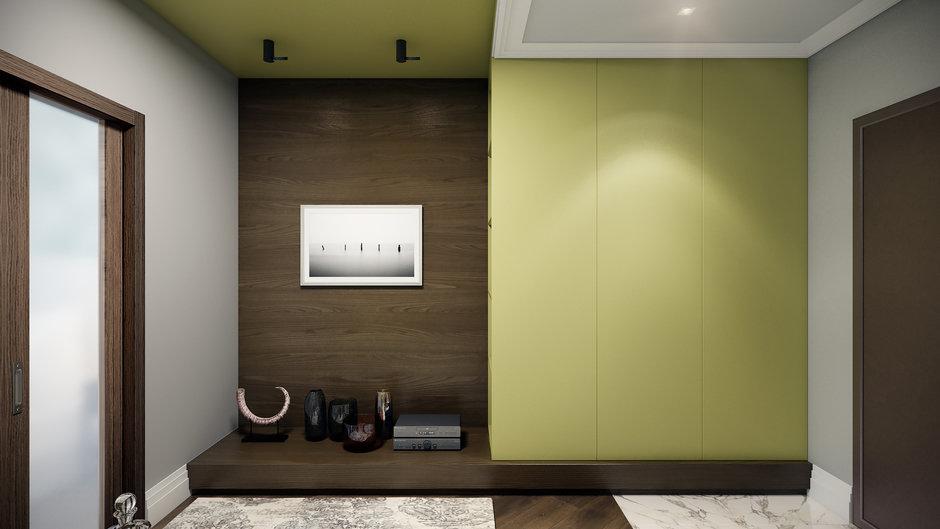 Фотография: Прихожая в стиле Современный, Квартира, Проект недели, Co:Interior, 1 комната, 40-60 метров, Монолитно-кирпичный, ЖК «Новое Тушино» – фото на InMyRoom.ru